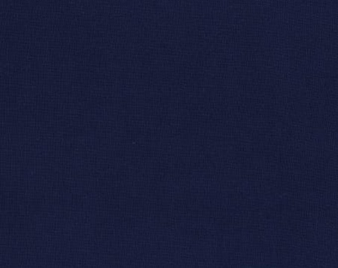 RJR 9617-030 Cotton Supreme Solids - Solid - Navy Fabric Fabric BTY