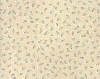 Moda Aubade Song to the Dawn Janet Clare Cream Shooting Star Fabric BTHY 1422-11