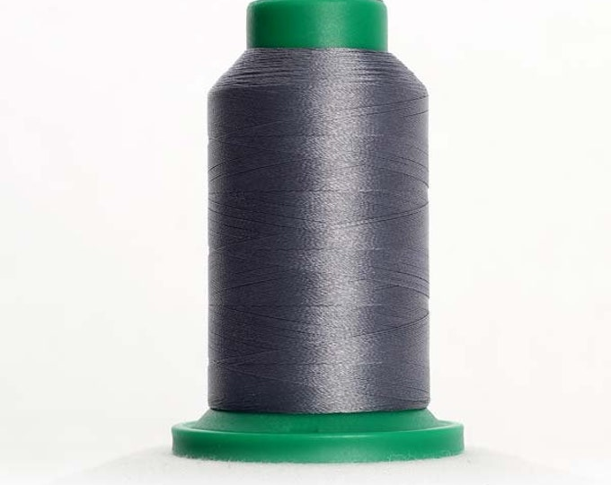 ISACORD Polyester Embroidery Thread Color 3274 Battleship Gray 1000m