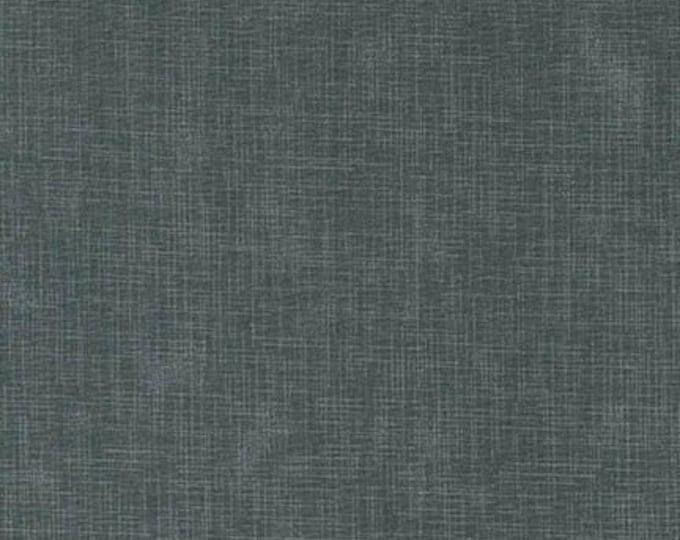 Kaufman Quilters Linen Smoke Dark Blue Gray Grey 100% Cotton Textured Fabric 9864-293 BTY