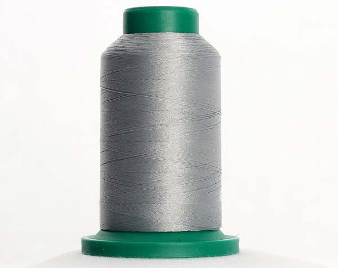 ISACORD Polyester Embroidery Thread Color 0142 Sterling 1000m
