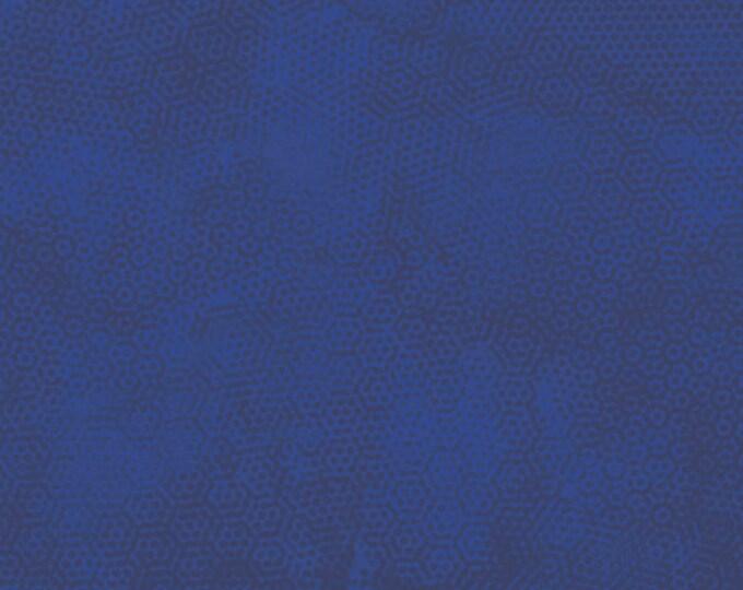 Andover Dimples Gail Kessler Basic Textured Blender Indigo Deep Navy Blue 1867-B17 BTY