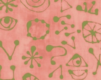 NEW Windham Art History 101 by Marcia Derse Miro Glyphs Rose Dusty Pink Fabric 50418-21 BTY