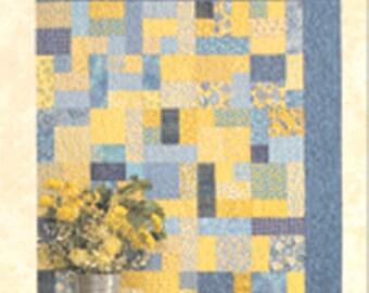Atkinson Design Yellow Brick Road Fat Quarter Friendly Quilt Pattern