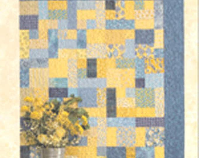 Atkinson Design Yellow Brick Road Fat Quarter Friendly Quilt Pattern