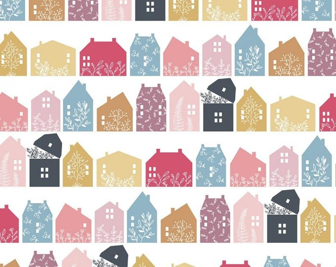Gingham Farmhouse by Poppie Cotton GF19104 Cotton Fabric Basic Farmhouse Row BTY