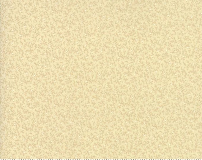 Moda Collections for a Cause Compassion Cream Tonal Branch Floral Tan OOP Fabric 46251-11 BTY