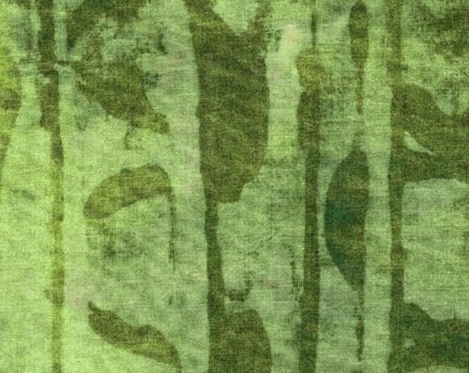 NEW Marcia Derse Studio Alphabet Runes Pea Pod Green fabric 41792 BTHY