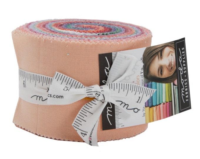 Moda New Ombre Confetti Metallic by V and Co Vanessa Christenson Junior Jelly Roll 2.5 Fabric Strips