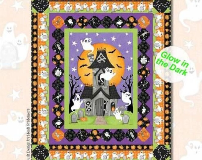Ghostly Glow Town Quilt #1 Kit