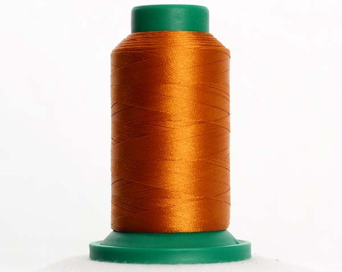 ISACORD Polyester Embroidery Thread Color 0940 Autumn Leaf 1000m