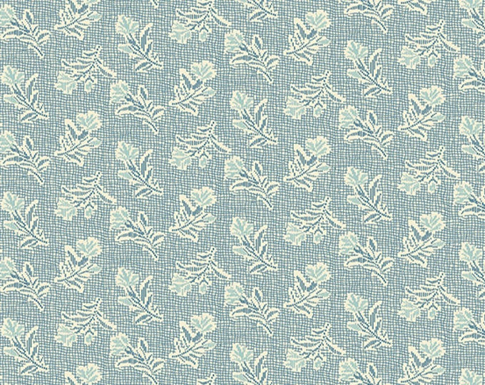 Andover Laundry Basket Quilts LBQ Edyta Sitar Something Blue Light Small Floral Fabric 8826-B BTHY