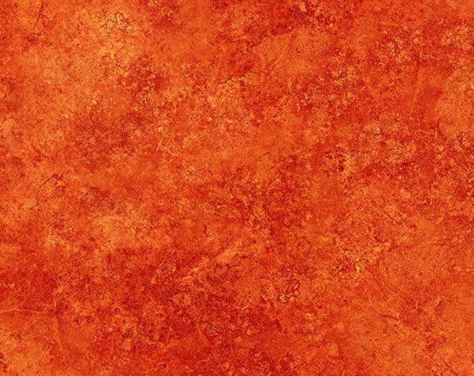 Northcott Stonehenge Gradations Sunglow Orange Rust Granite Marble Fabric 39300-53 BTY