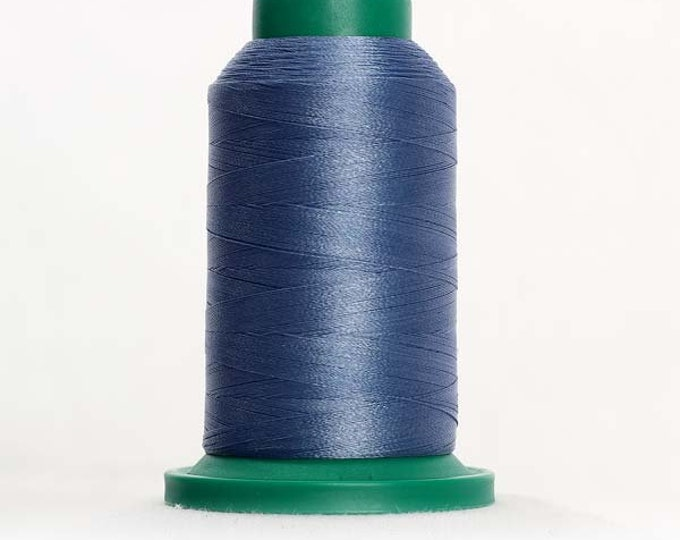ISACORD Polyester Embroidery Thread Color 3953 Ocean Blue 1000m