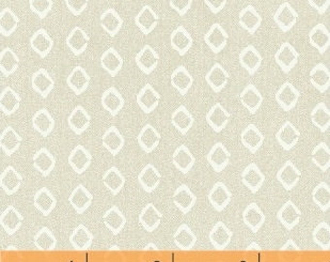 Windham Atlas Neutral Beige Tan Off White Diamond Cotton Fabric BTY 42297-4