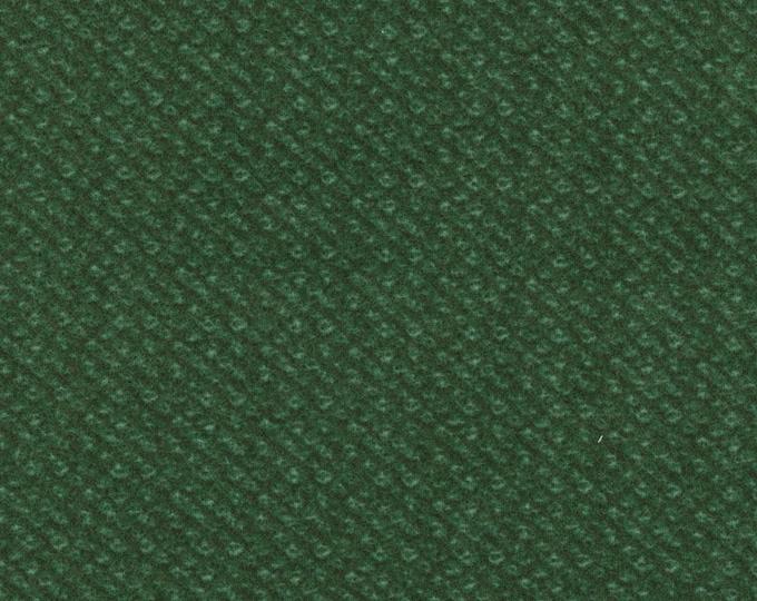 Maywood Woolies Blue Green Nubby Tweed FLANNEL Fabric MASF-18505-G2 BTHY