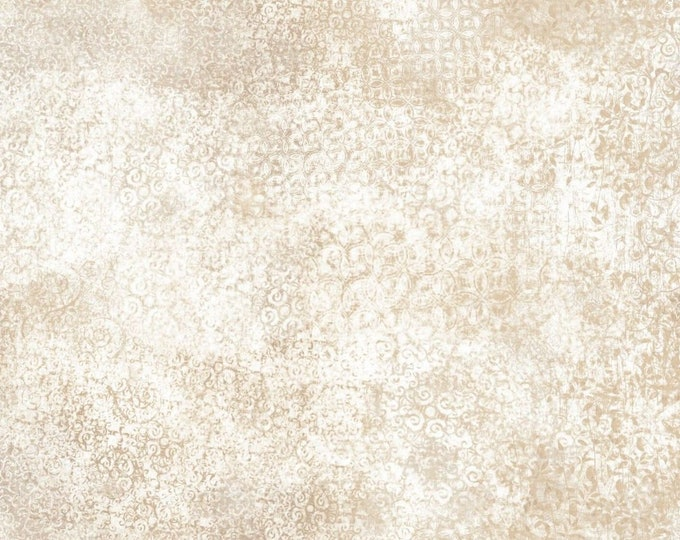 Quilting Treasures Scrollscapes Dan Morris Beige Stone Cream Swirl Fabric 24362-KE BTY