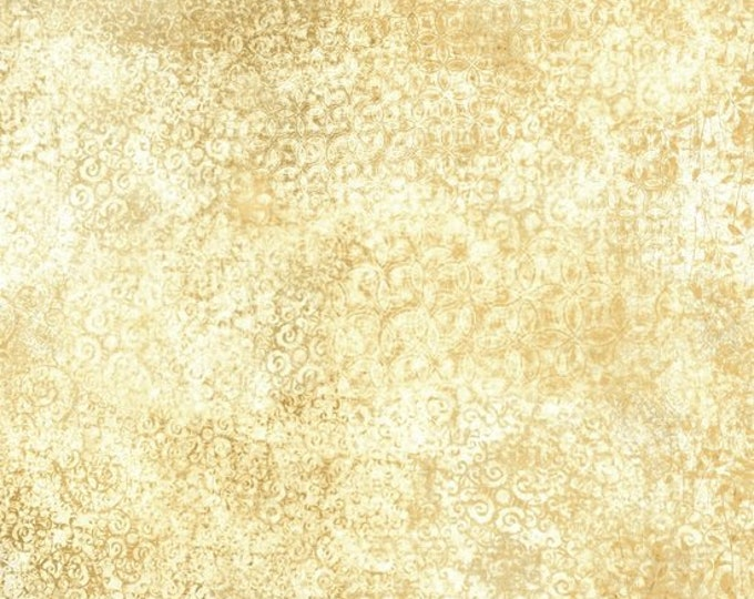 Quilting Treasures Scrollscapes 24362-E Parchment Fabric BTY