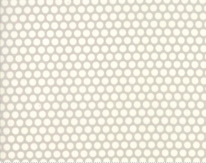 Moda Bonnie Camille Ruby Grey Big Polka Dot Basic Fabric 55023-36 BTY