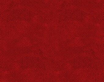 Andover Dimples Gail Kessler Basic Textured Blender Fire Engine Red Crimson 1867-R7 BTY