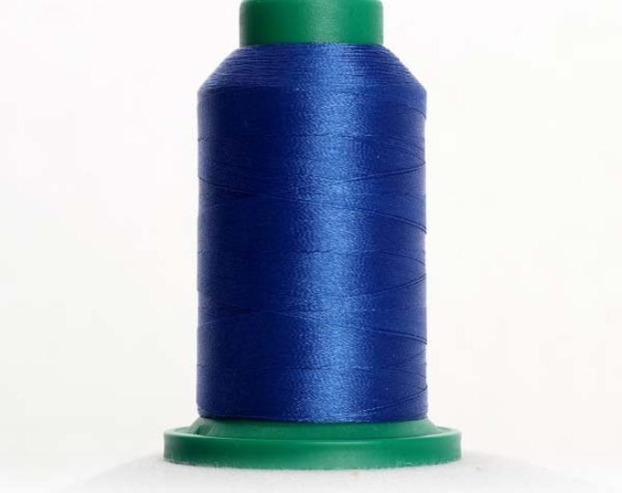 ISACORD Polyester Embroidery Thread Color 3600 Nordic Blue 1000m