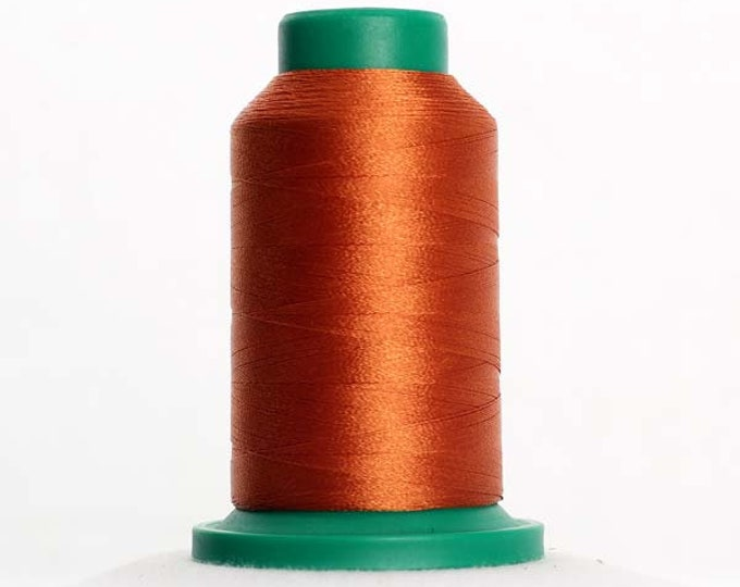 ISACORD Polyester Embroidery Thread Color 0933 Redwood 1000m
