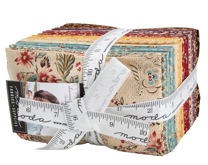Moda Susannas Scraps 38 Fat Eighths  9 x 22 Inches Betsy Chutchian Civil War Fabric Bundle