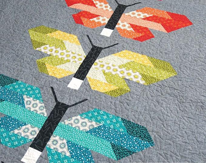 Frances Firefly Elizabeth Hartman Quilt Modern Pattern 2 Sizes