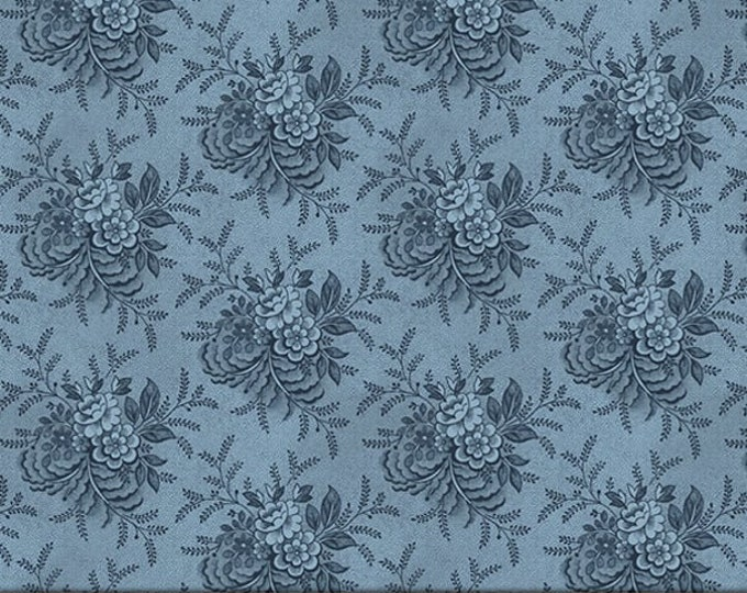 """P&B Textiles/Washington Street Studio 108"""" Wide Back Historical Quilt Backs Tossed Floral Cotton Fabric BTY"""