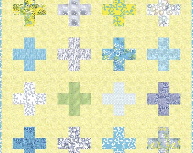 ZEN CHIC Positive Connection Half Yard Friendly Modern Quilt Pattern