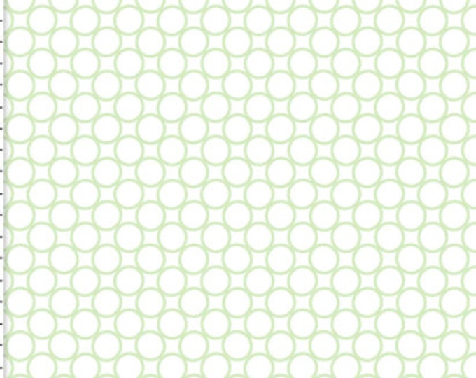 3 Wishes Fabric CB Packed Circles White RN 118678