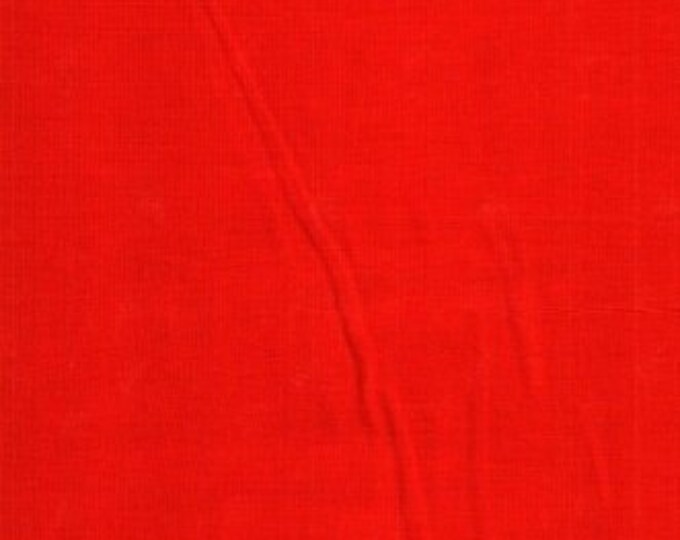 Moda Fabric Table For Two  BY Sandy Gervias Solid Red Cotton 7521-602  BTY
