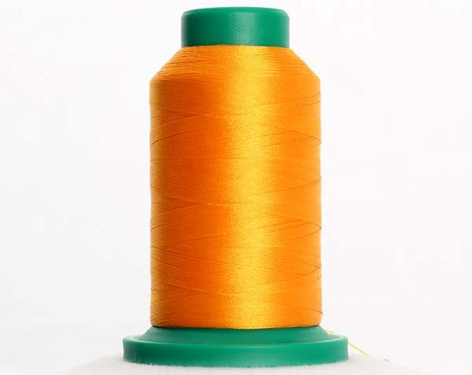 ISACORD Polyester Embroidery Thread Color 0800 Golden Rod 1000m