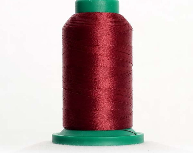 ISACORD Polyester Embroidery Thread Color 2224 Claret 1000m