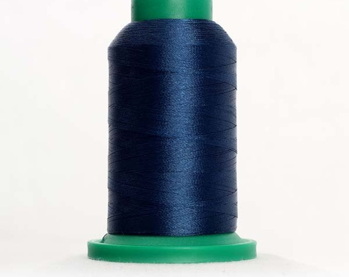 ISACORD Polyester Embroidery Thread Color  4133 Deep Ocean 1000m