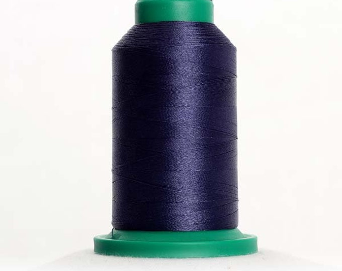 ISACORD Polyester Embroidery Thread Color 3645 Prussian Blue 1000m
