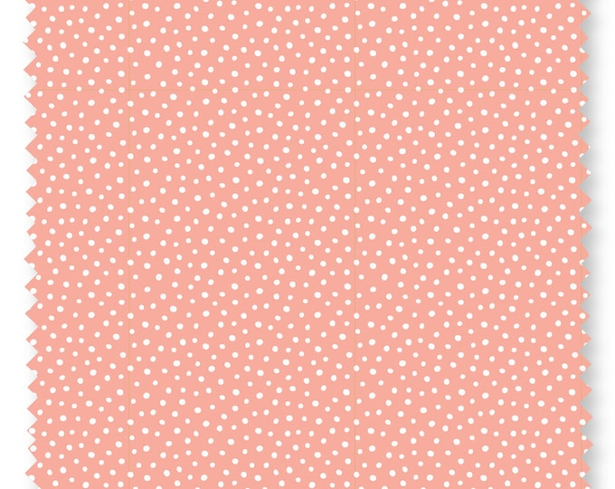 Felicity fabric 600013 Speckles Pink fabric BTY