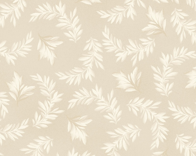 Maywood Fabric MAS9325-T A Fruitful Life Tonal Leaves BTY
