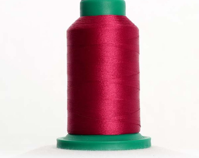 ISACORD Polyester Embroidery Thread Color 2506 Cerise 1000m