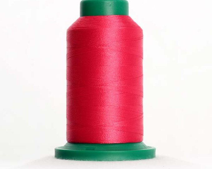 ISACORD Polyester Embroidery Thread Color 2320 Raspberry 1000m