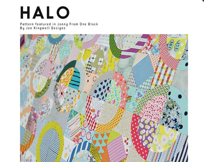 Halo Template JKD 5477 Jen Kingwell Designs Templates ONLY