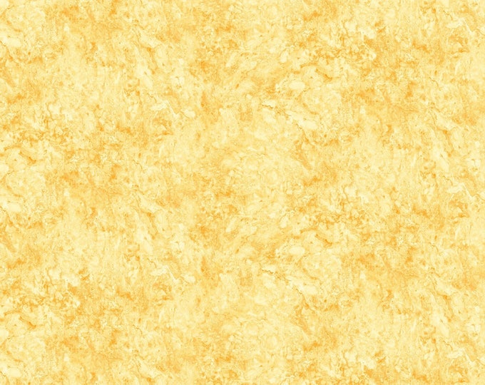 Northcott Stonehenge Gradations Sunglow Yellow Chiffon Marble Fabric 39303-52 BTY
