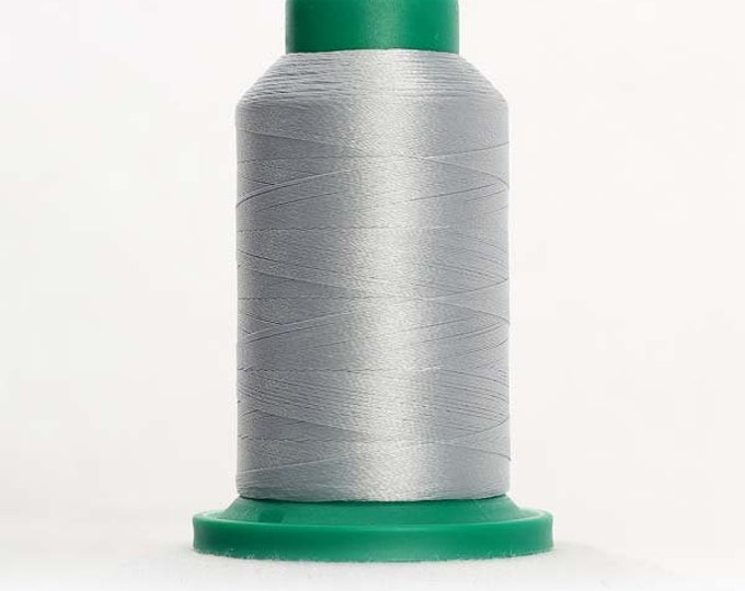 ISACORD Polyester Embroidery Thread Color 3971 Silver 1000m