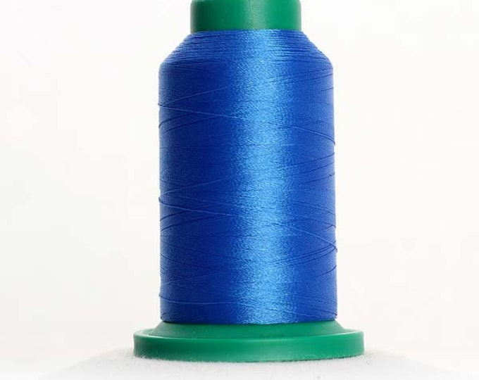 ISACORD Polyester Embroidery Thread Color Cornflower Blue 1000m