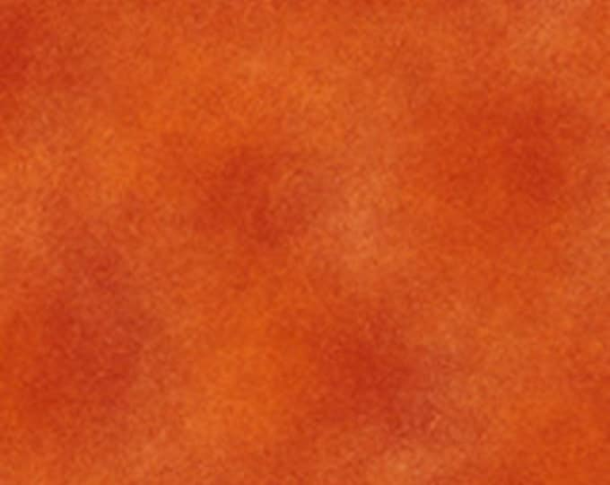 Benartex Shadow Blush Mottled Tonal Orange Copper Rust Fabric 0245-79 BTY