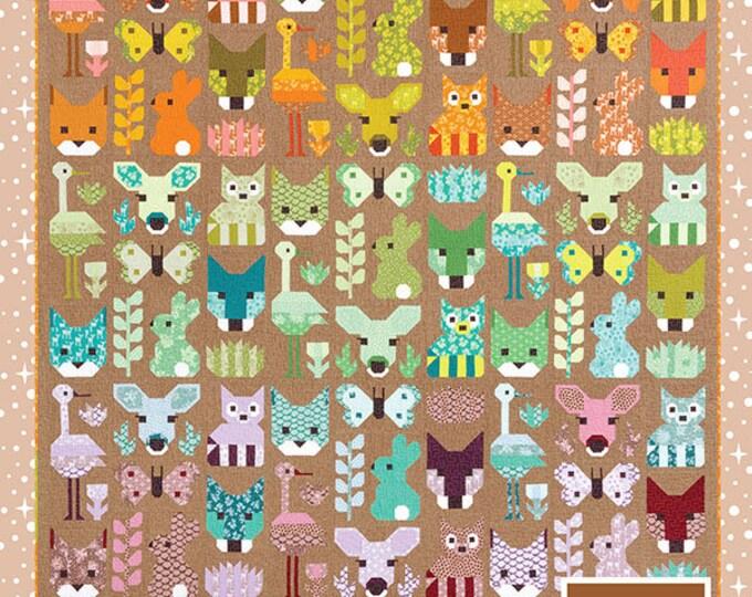 Delightful Desert Elizabeth Hartman Bunny Doe Quilt Racoon Modern Pattern