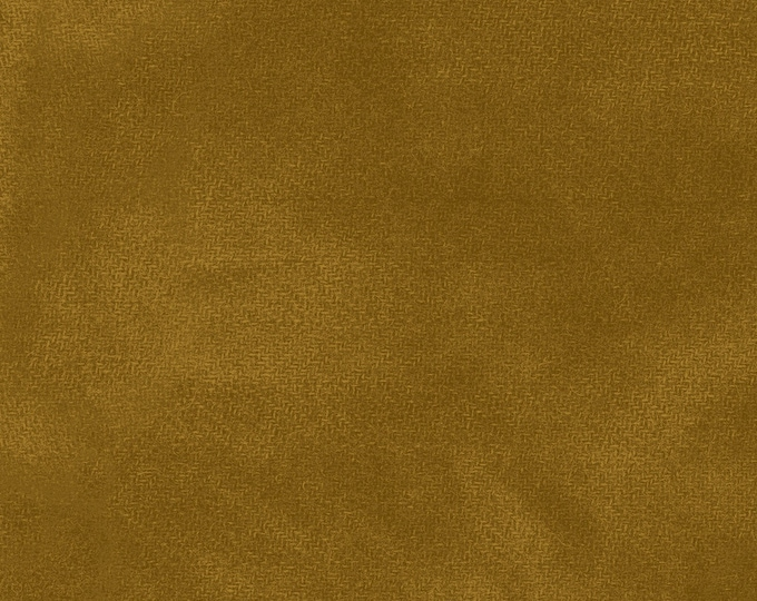Maywood WOOLIES Color Wash Flannel Fabric Honey Biscuit Gold 9200-S BTHY