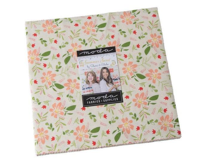 "Summer Sweet 10"" Layer Cake by Sherri & Chelsi for Moda -37580LC"