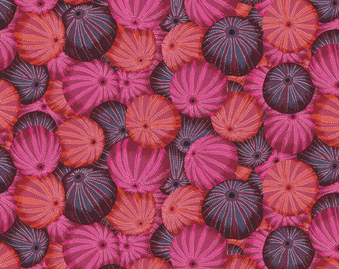 Kaffe Fassett Fabric Sea Urchins PWPJ100 Pink BTY