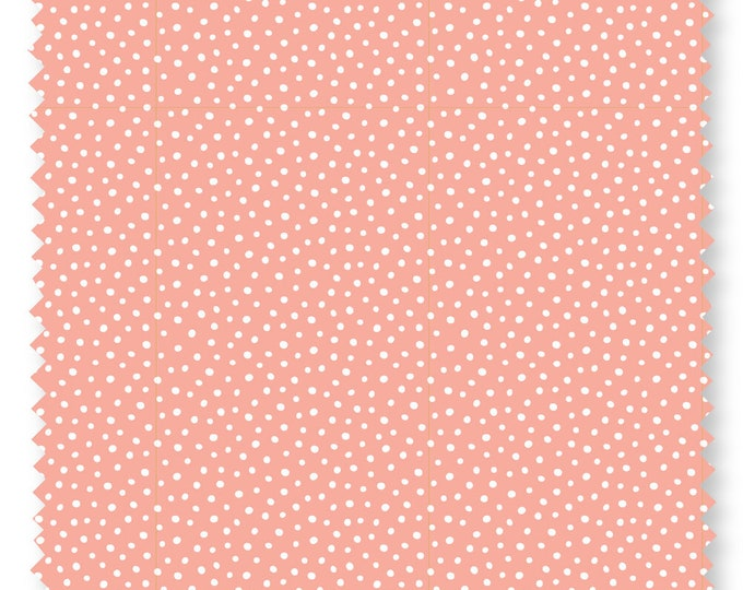 Felicity fabric 600013 Speckles Orange fabric BTY